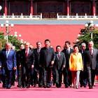 Аляксандр Лукашэнка з Колем падчас афіцыйнага візіту ў КНР, 1-3 верасня 2015 года. Фота president.gov.by