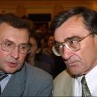 Сямён Домаш і Уладзімір Ганчарык. 2001 год. Фота naviny.by