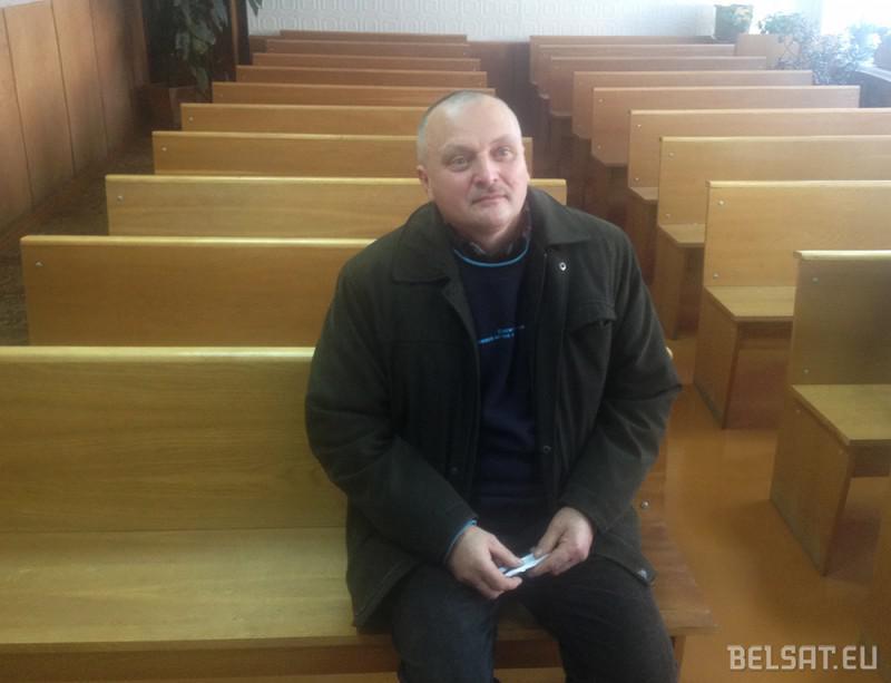 Актывіст і прадпрымальнік Юрась Глебік