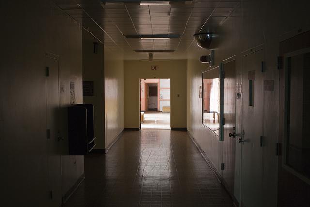 abandoned state psychiatric hospital