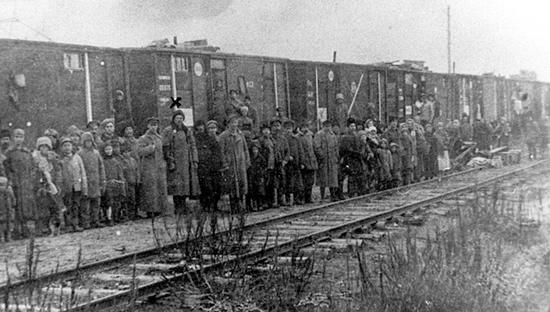 Znalezione obrazy dla zapytania deportacja syberia