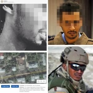 Mężczyzna na zdjęciu według zamieszczonego geotagu odwiedzał fabrykę trolli na Sawuszkina 55