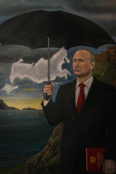 Альберт Расцяпін, «Уладзімір на ўзбярэжжы Крыма» (палатно, алей)
