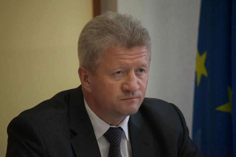 Старшыня Наваградскага райвыканкаму Анатоль Маркевіч.