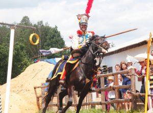 Kavaleriskie sirevnovanie 3 voin z 22 polka vkl