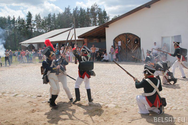 Бой расейскай і французскай пяхотаў
