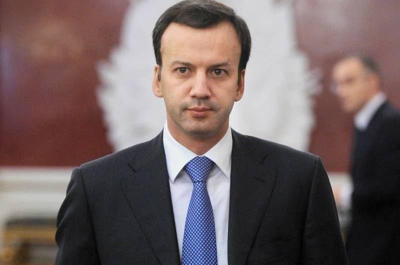 Віцэ-прэм'ер Расеі Аркадзь Дварковіч.