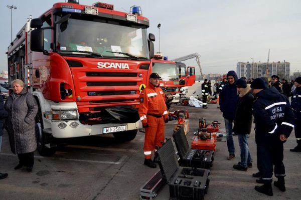 Украінскія пажарныя