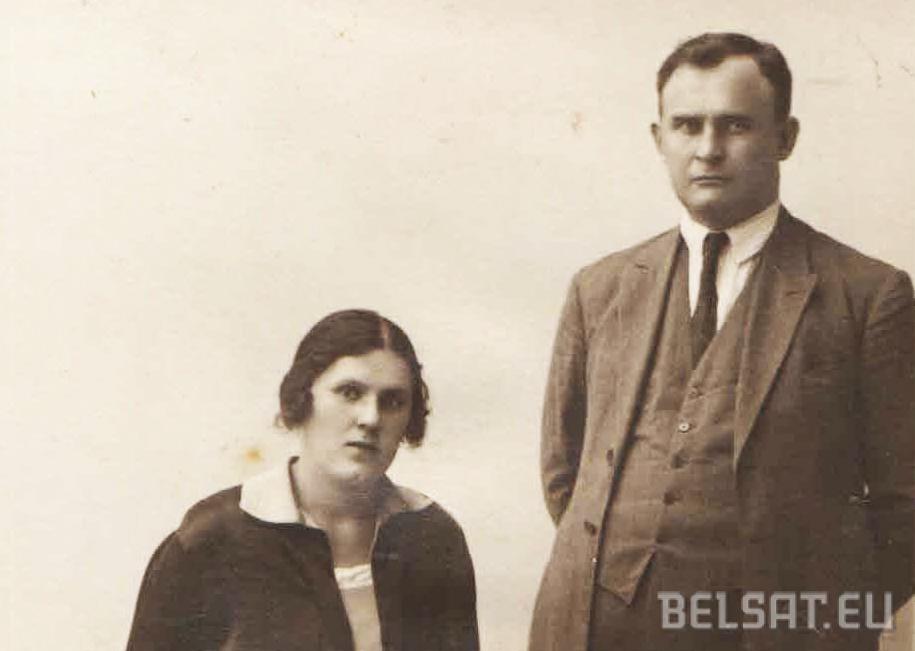 Андрэй і Ніна Якубецкія ў 1928 годзе. Фота з архіву