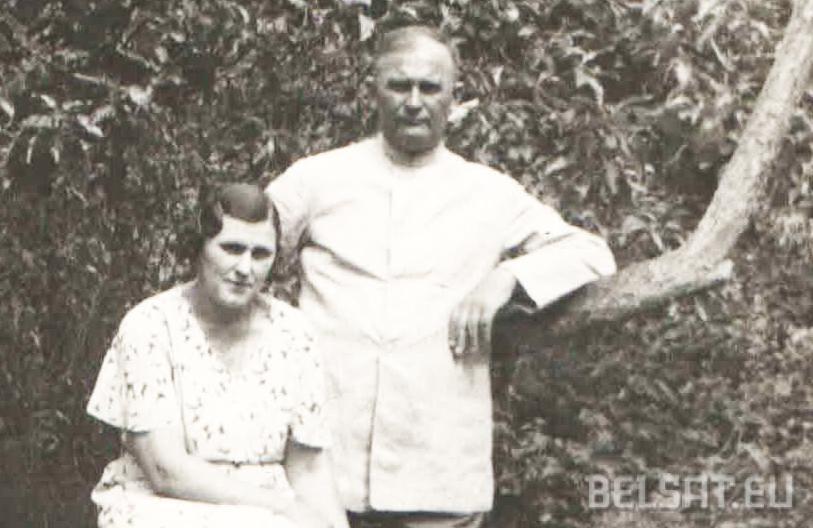 Андрэй і Ніна Якубецкія ў 1940 годзе. Фота з архіву
