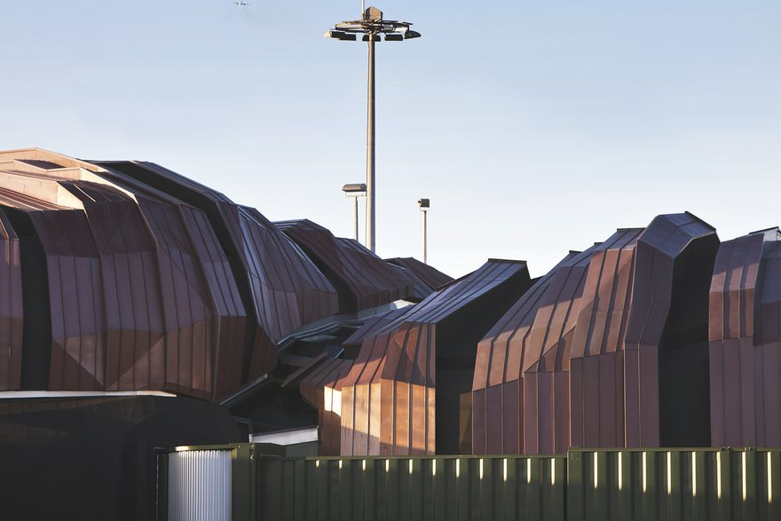 «Скала» – праект новазеландскай студыі «Pacific Architecture» і аўстралійскага бюро «Warren & Mahoney». Фота: Patrick Reynolds.