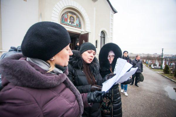 Паніхіда па Багдановічу на Старых Гарадзенскіх могілках