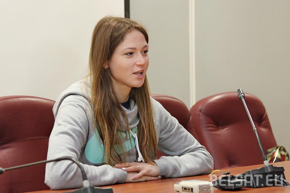 Аляксандра Герасіменя правяла майстар-клас у Берасці. Фотарэпартаж