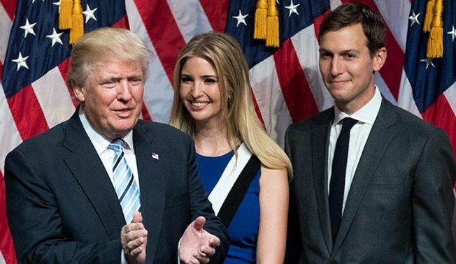 U.S. president Trump's family ...
