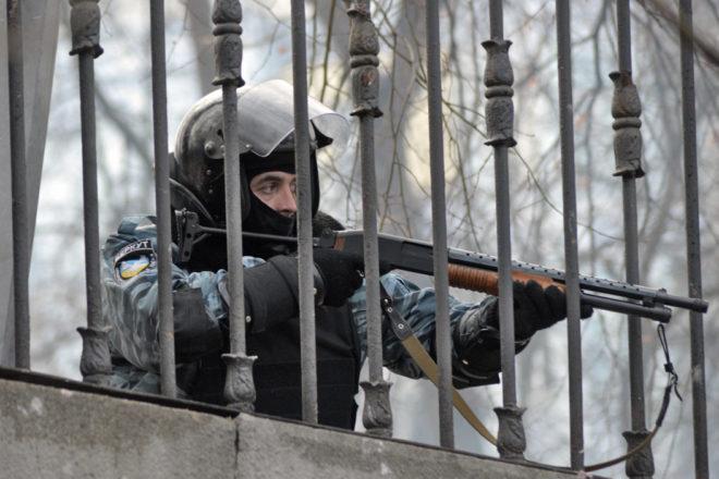 Экс-«беркутовцы» сейчас будут избивать нетолько лишь граждан России, однако ибелорусов