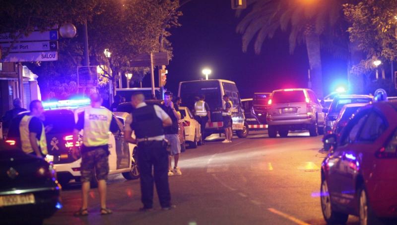 ВБарселоне милиция предотвратила очередной теракт: 4 террориста убиты