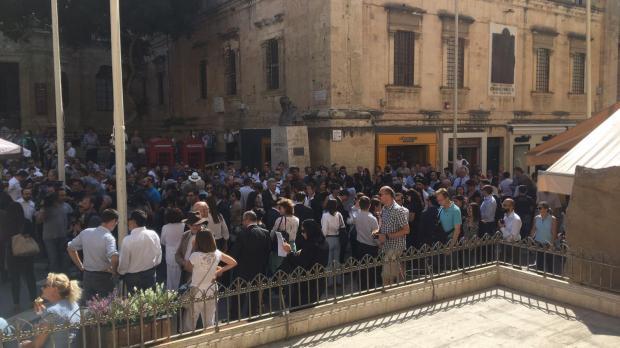 Протесты вМальте: люди требуют расследовать убийство журналистки
