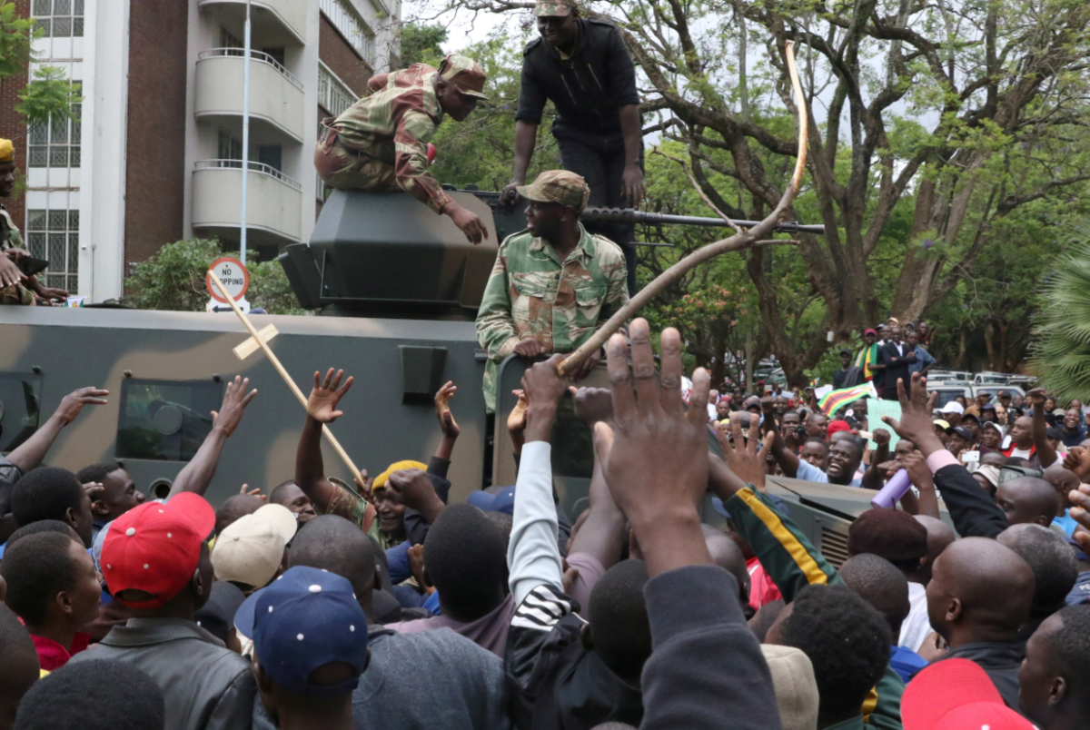 the history of civil unrest in the african country of zimbabwe A democratic upsurge: wars of civil unrest  federalism underlying the government of your own country to the relationships now existing  history is too complex.