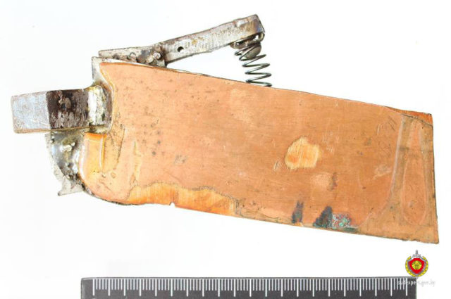 Гродзенец сканструяваў пісталет, які адкрылі толькі пасля ягонай смерці