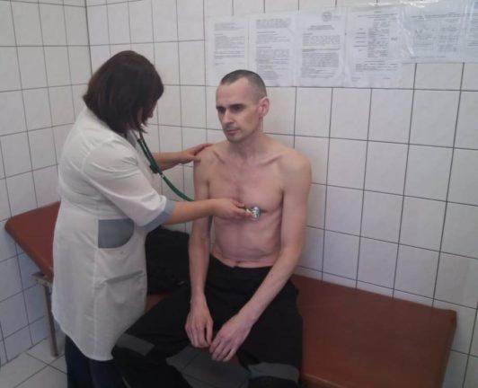 Олег Сенцов на 139 день голодовки