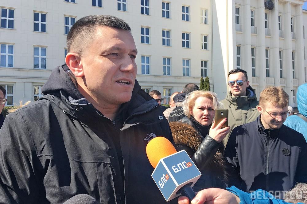 В Бресте задержали пять противников аккумуляторного завода