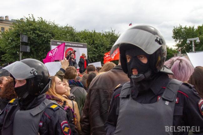 хаяатурян, протест, митинг, Петербург, Россия, домашнее насилие