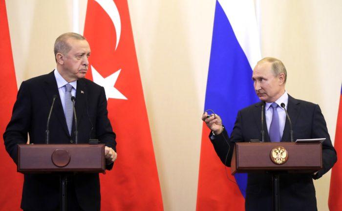 Путин, Эрдоган, Сочи